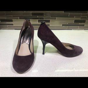 Micheal Kors High-heel pumps, purple suede